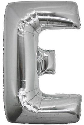 Elitetime Folyo Balon Harf E 16İnc Gümüş P1 - Ar4615E-G