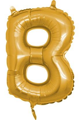 Elitetime Folyo Balon Harf B 16İnc Altın P1 - Ar4615B-A
