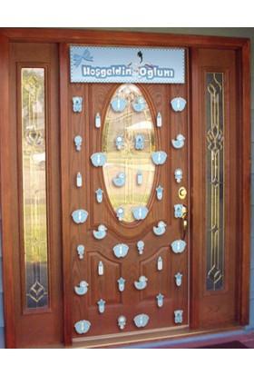 Elitetime Kapı Perdesi Hoşgeldin Oğlum - Be4257