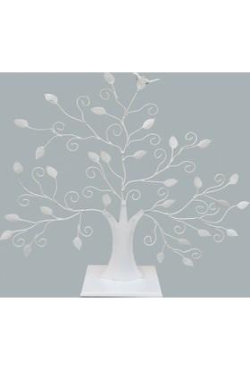 Elitetime Şeker Ağacı Kuşlu Beyaz P1-24 - Ar1071