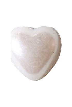 Elitetime Yarım İnci Kalp Beyaz 10Mm P1000-80 - Ar0331B