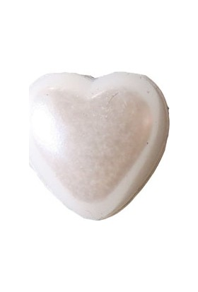 Elitetime Yarım Kalp İnci Beyaz 12Mm P640-80 - Ar0334B
