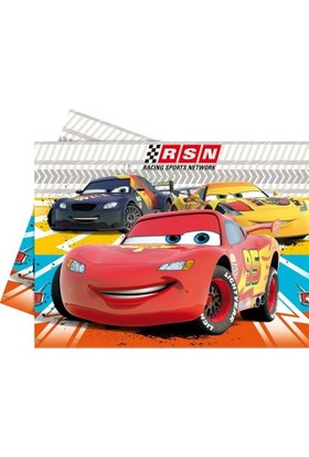 Elitetime Masa Örtüsü Cars Rsn 120*180Cm-12 - Be5618