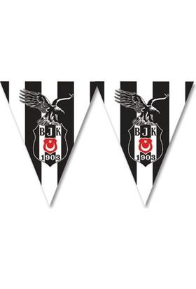 Elitetime Beşiktaş Üçgen Bayrak Set - Be1475