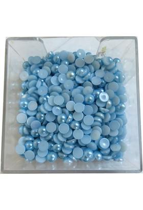 Elitetime Yarım İnci 8Mm Mavi P1964(250Gr)-80 - Ar1067M