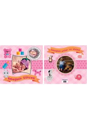 Elitetime Bebek Güncesi Şapkalı Pembe 70 Sayfa P1-24 - Ar4548