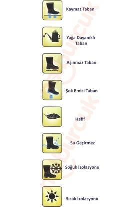 Gezer Polly Çizme Kauçuk İçi Çoraplı
