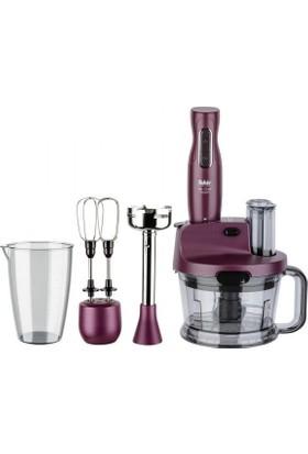 Fakir Mr Chef Quadro Mutfak Robotu Blender Seti Violet