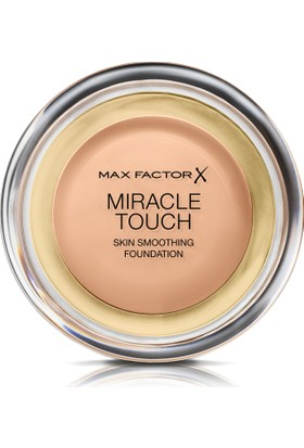 Max Factor Miracle Touch Kompakt Fondöten 045 Warm Almond