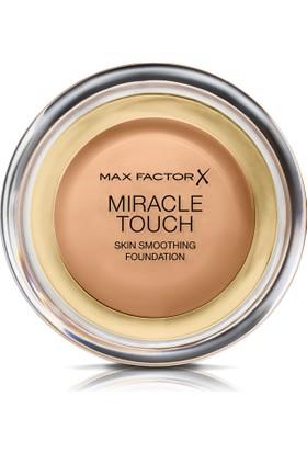 Max Factor Miracle Touch Kompakt Fondöten 080 Bronze