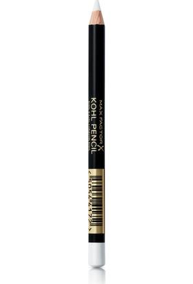 Max Factor Kohl Pencil Kalem 10 White