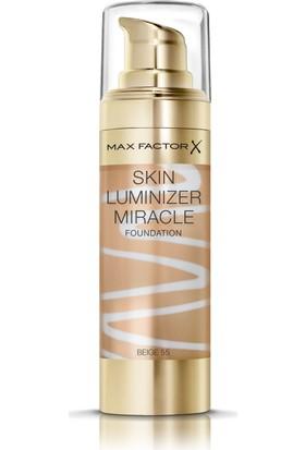 Max Factor Skin Luminizer Cilt Aydınlatıcı Fondöten 55 Beige