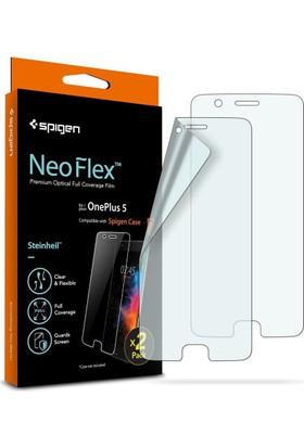 Spigen OnePlus 5 Neo Flex HD Ekran Koruyucu (2 Adet) - K04FL22188