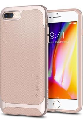Spigen Apple iPhone 8 Plus - iPhone 7 Plus Kılıf Neo Hybrid Herringbone Pale Dogwood - 055CS22232