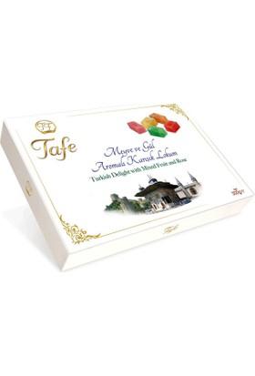Tafe Meyve ve Güllü Lokum (Hediyelik Kutu) 300 gr