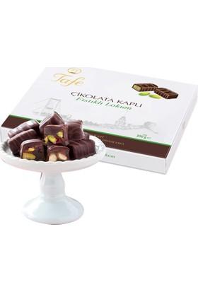Tafe Çikolata Kaplı Antep Fıstıklı Lokum 300 gr