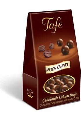 Tafe Çikolata Kaplı Lokum Draje - Moccha Kahveli 60 gr