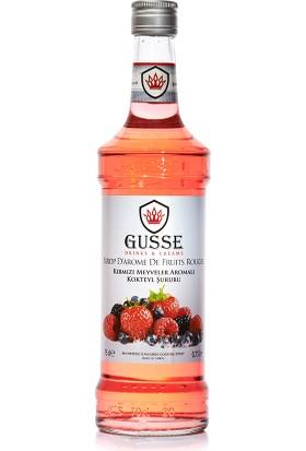Gusse Kırmızı Meyveler (Red Berries) Aromalı Kokteyl Şurubu 70 cl