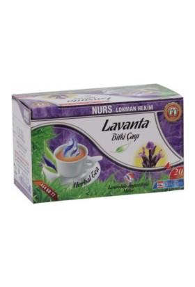 Nurs Lokman Hekim Lavanta Bitki Çayı - 20 Süzen Poşet