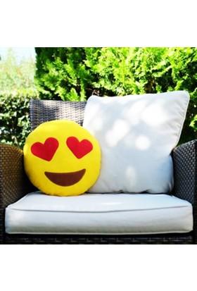 Çeyiz Diyarı Emoji Yastık In Love Aşk Yastığı