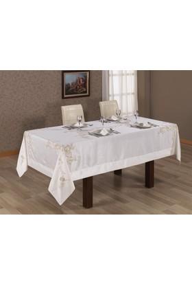 Evlen Home Alissium İpek Şantuk Yemek Takımı 25 Parça