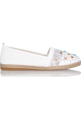 UK Polo Club P64924 Kadın Günlük Ayakkabı - Beyaz
