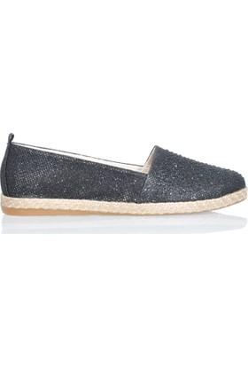 UK Polo Club P64923 Kadın Günlük Ayakkabı - Siyah