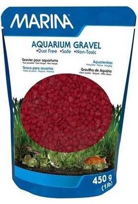 Marına Renkli Çakıl Kırmızı 450Gr