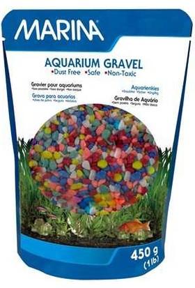 Marına Renkli Çakıl Karışık Renkli 450Gr