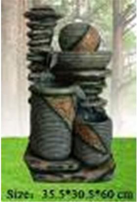 Chıcos - Dekor Dekoratif Fıskiye (35,5X30,5X60)