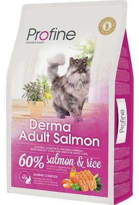 Profine Süper Premium Derma Somonlu Yetişkin Kedi Maması 10 Kg