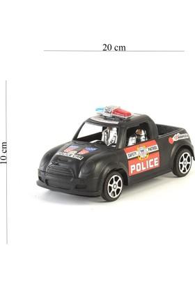 Prestij Oyuncak Super City Hero Sürtmeli Polis Kamyonet Renkli 20 cm