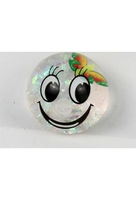 Prestij Oyuncak Çılgın Işıklı Zıplayan Kelebekli Top 7 cm