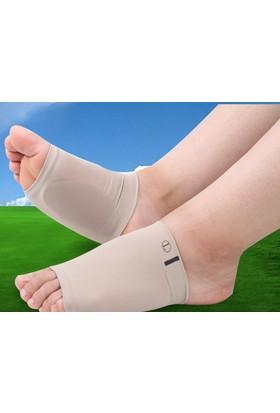 Destekleyici Silikon Ayak Ark Desteği Çorabı Bir Çift