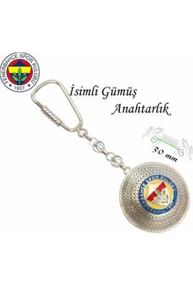 Midyat Nurtaş Gümüş 925 Ayar Gümüş Telkari El İşçiliği Fenerbahçe Anahtarlık 2010170