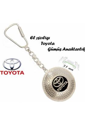 Midyat Nurtaş Gümüş 925 Ayar Gümüş Telkari El İşçiliği Toyota Anahtarlık 2010176