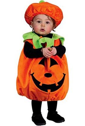 Kostümce Bebek Kabak Kostümü