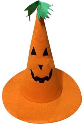 Kostümce Balkabağı Şapkası Cadılar Bayramı Çocuk