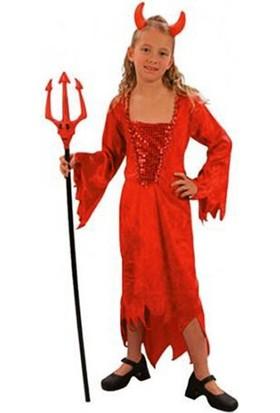Kostümce Halloween Şeytan Kostümü