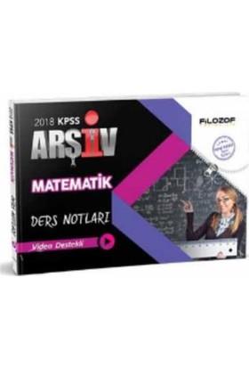 Filozof Kpss Matematik Arşiv Ders Notları Video Destekli 2018