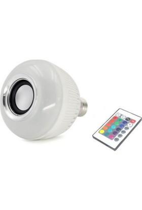 TechnoStyle Hoparlörlü Bluetooth 32 Renk Lamba