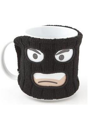 Toptancı Kapında Mugga Mag - Hırsız Maskeli Kupa Bardak