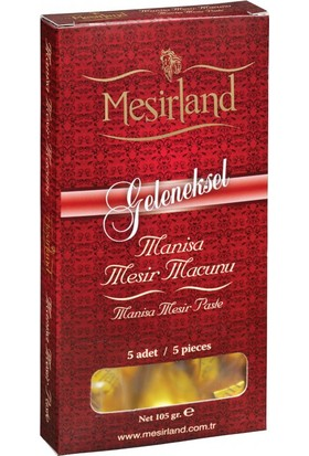 Mesirland Mesir Macunu 5'li 105 gr Glikozsuz