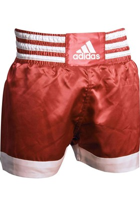 Adidas ADISTH07 Muay Thai Şortu Kırmızı-Beyaz