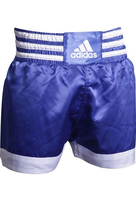 Adidas ADISTH07 Muay Thai Şortu Mavi-Beyaz