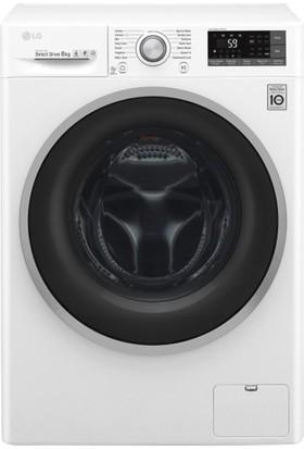LG F4J7TNP1W A+++ 8 kg 1400 Devir Çamaşır Makinesi
