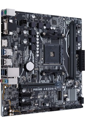 Asus Prime A320M-K DDR4 3200 MHz S+GL AM4 mATX Anakart