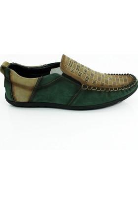 Thunderhead Erkek Günlük Hakiki Deri Ayakkabı-Yeşil-113315-01