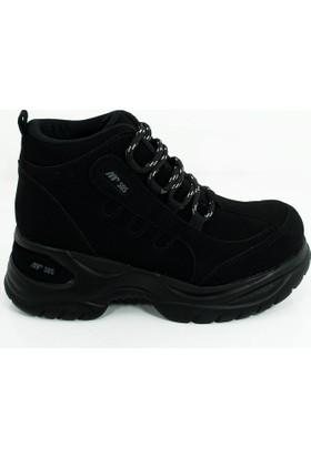 Mp Kadın Yüksek Taban Spor Ayakkabı Siyah-172-0305b-01