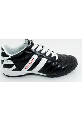 Dunlop Erkek Çocuk Spor Halı Saha Futbol Ayakkabı-Siyah -717731f-01